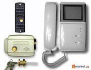 Охранно-пожарная сигнализация и видеонаблюдение видеодомофоны