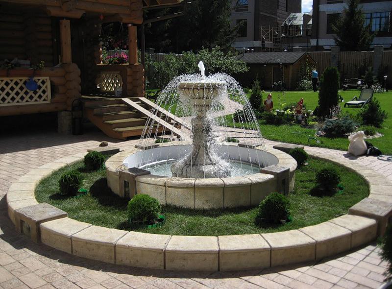 Дизайны фонтанов фото