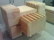 Клееный брус -100% натуральный материал от производителя