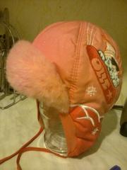 Зимняя шапка для девочек тел.511575  87759802170