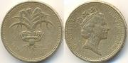 1 фунт 1985г Великобритания