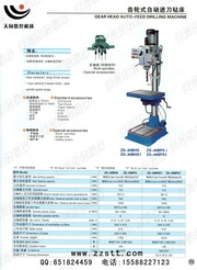 Станок вертикально сверлильный ZS-40B PS (Китай)