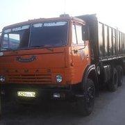 КАМАЗ-55102 c прицепом