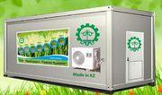Гидропонное оборудование для выращивания готового корма. Павлодар