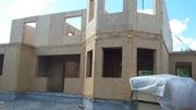 Строительство домов,  бытовок,  павильонов , ремонт помещений,  под ключ.