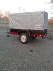 продажа курганских прицепов в Павлодаре, прицепы для снегоходов, квадроциклов, прицепы водники